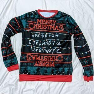 Stranger Things Ugly Christmas Sweater Unisex
